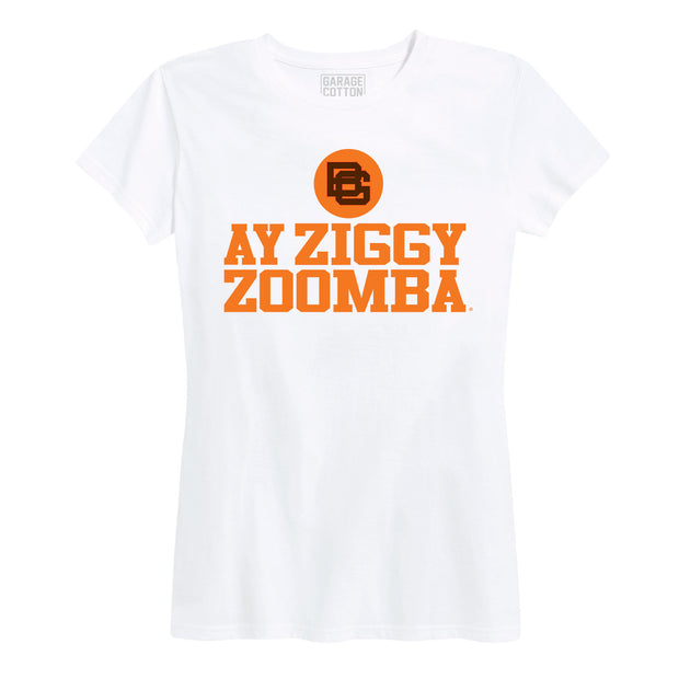 BGSU Bowling Green State Ay Ziggy Women's Short Sleeve T-Shirt