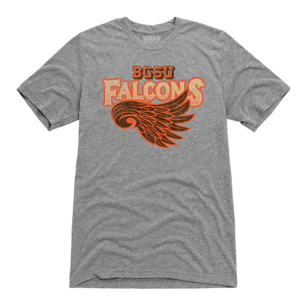 BGSU Bowling Green Falcons Vintage Wing Men's Short Sleeve T-Shirt