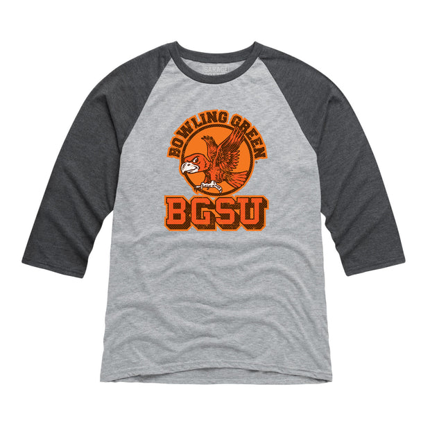 BGSU Bowling Green Falcons Vintage Men's Raglan