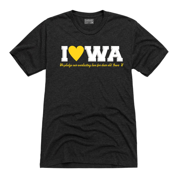 Iowa Heart Men's Short Sleeve T-Shirt