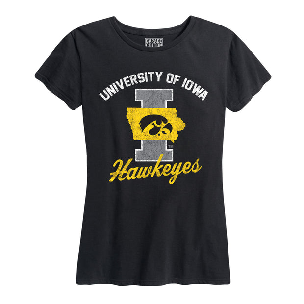 University Of Iowa Hawkeyes Women's Short Sleeve T-Shirt