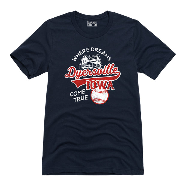 Dyersville Iowa Dreams Come True Baseball Men's Short Sleeve T-Shirt