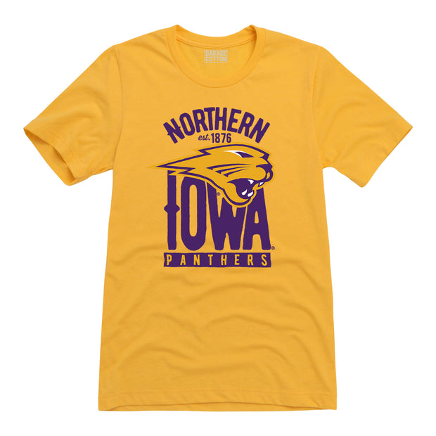 Northern Iowa Panthers Men's Short Sleeve T-Shirt