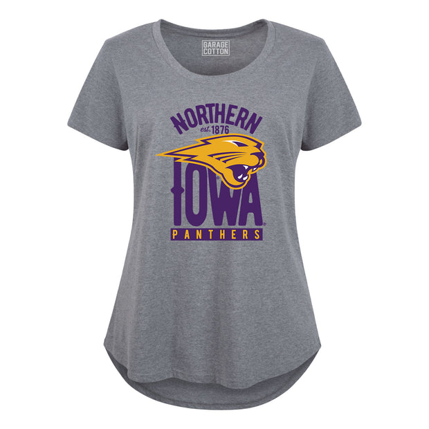 Northern Iowa Panthers Women's Plus Size T-Shirt