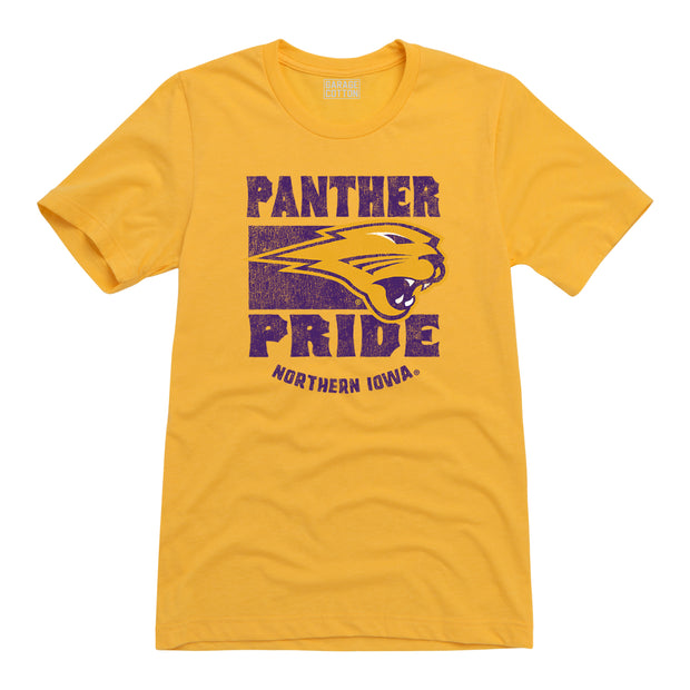 Panther Pride Northern Iowa Men's Short Sleeve T-Shirt