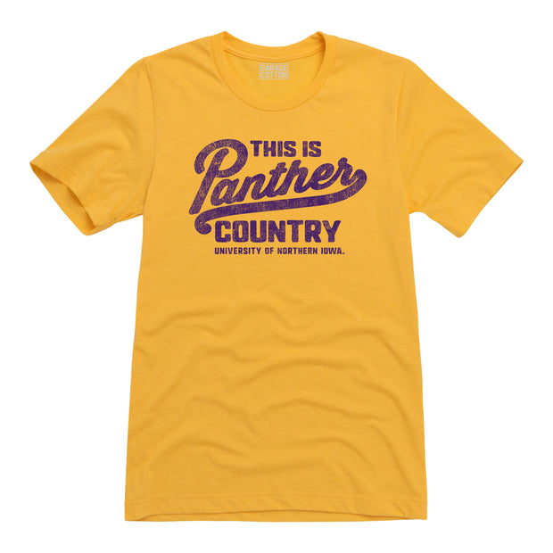 Panther Country Northern Iowa Men's Short Sleeve T-Shirt