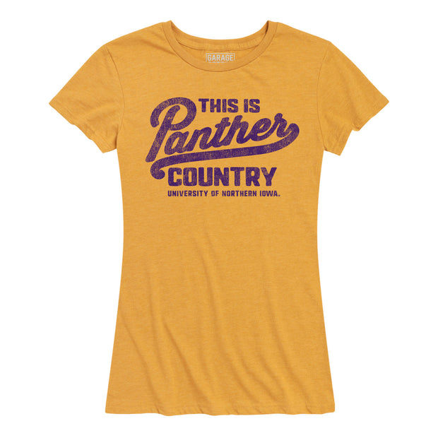 Panther Country Northern Iowa Women's Short Sleeve T-Shirt