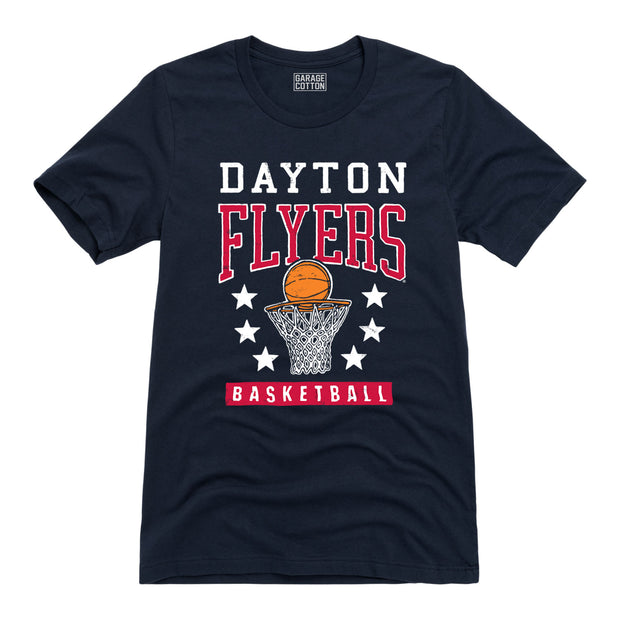 Dayton Flyers Basketball - Men's Short Sleeve T-Shirt