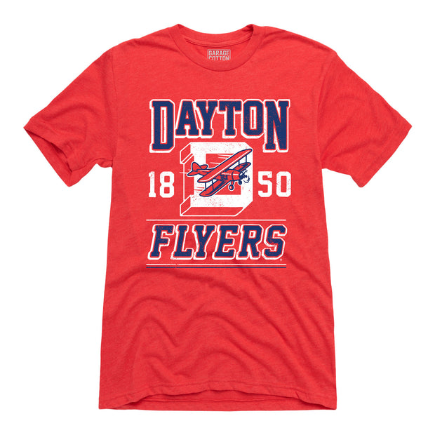 Dayton Flyers 1850 - Men's Short Sleeve T-Shirt