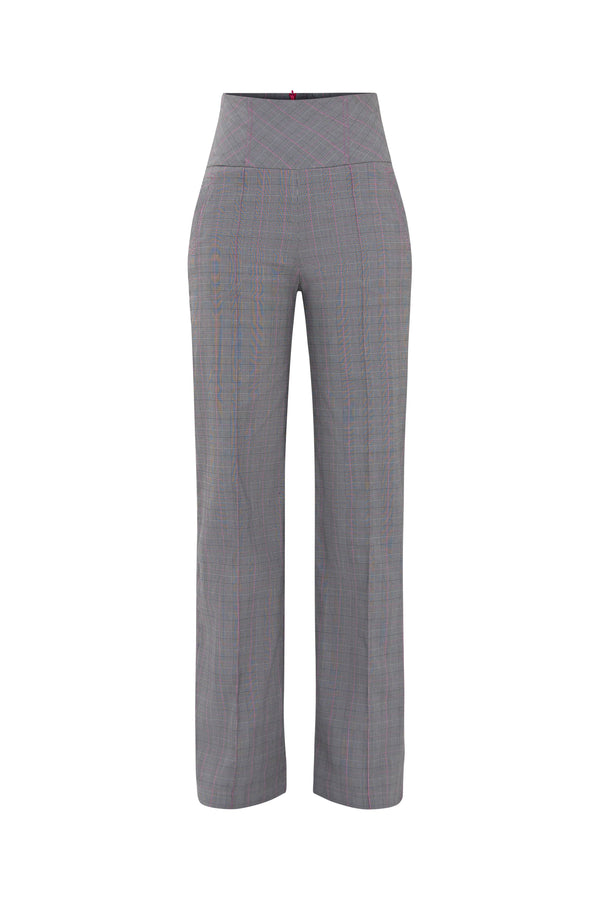 Get Down to Bussiness High Waisted Wide-Leg Trousers - Tia Dorraine London