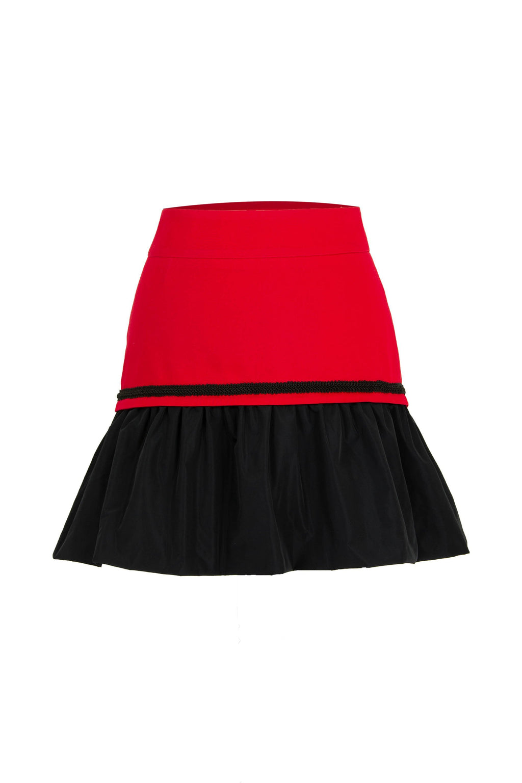 Modern Power Skirt - Red - Tia Dorraine London