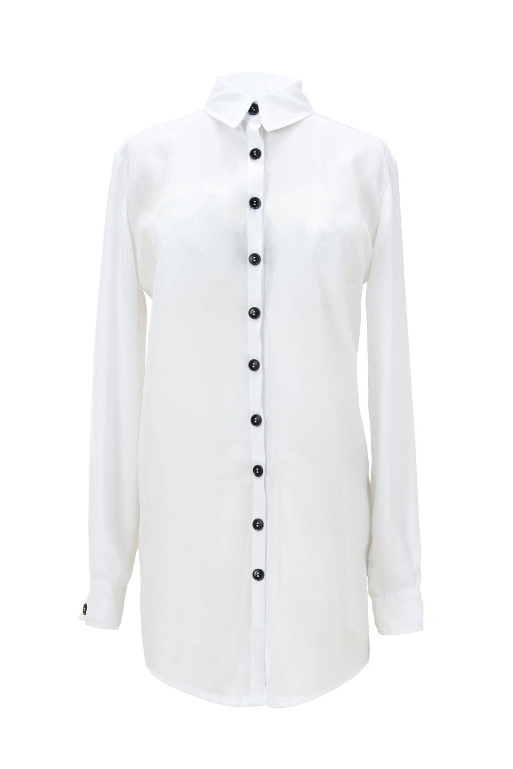 Paradigm Shift Classic Button-Down White Shirt - Tia Dorraine London