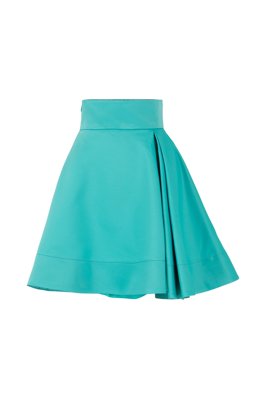 Ray of Sunshine Half-Pleated A-line Mini Skirt - Tia Dorraine London