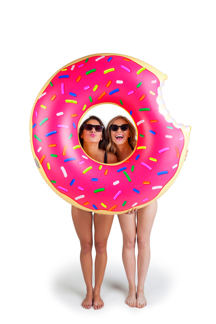 4 feet NEW BigMouth Inc Giant Strawberry Frosted Donut Pool Float