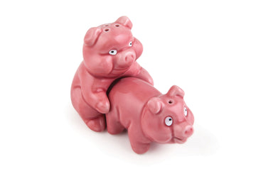 Naughty Pigs Salt & Pepper Shaker Set