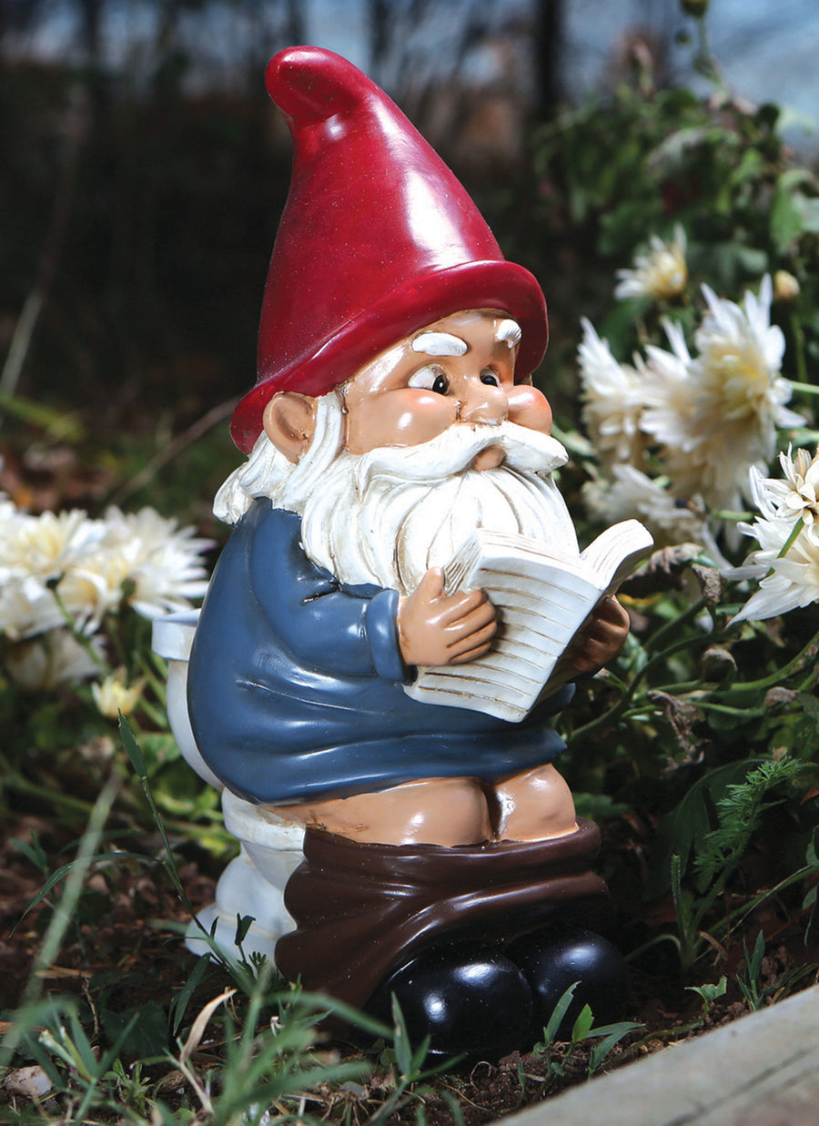 The Gnome on a Throne Garden Gnome