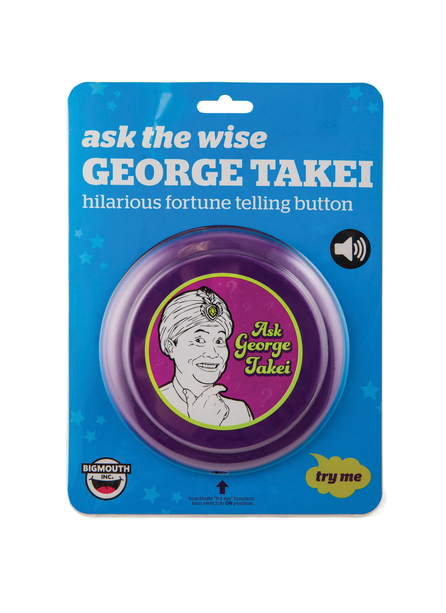 George Takei Fortune Telling Button