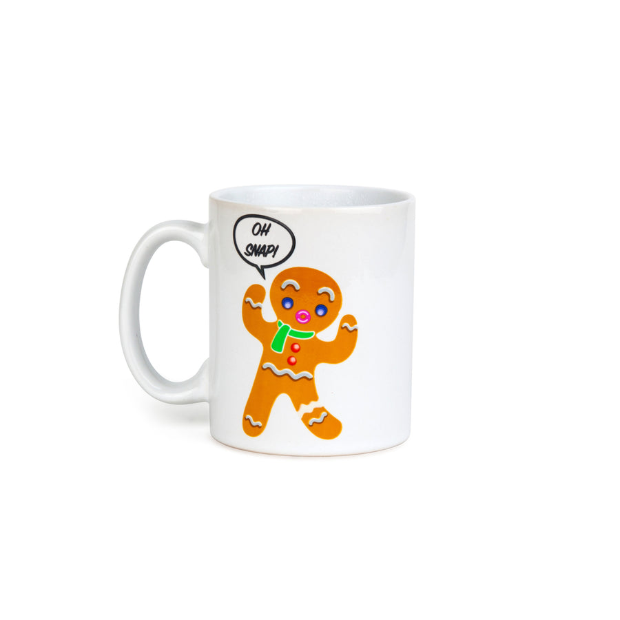 The Color Changing Gingerbread Man Mug