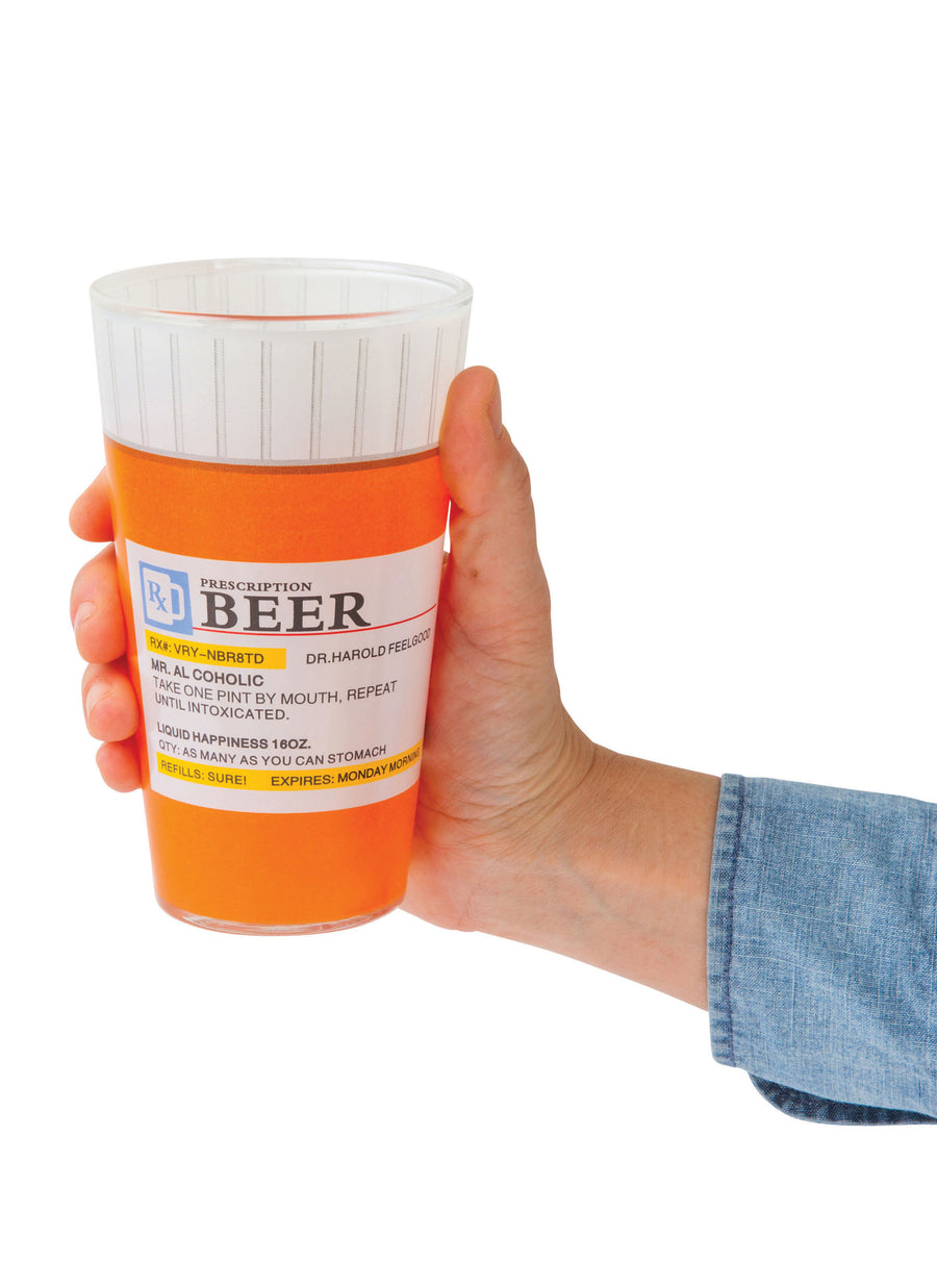 The Prescription Pint Glass (Set of 2)