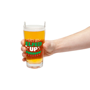 The Elfed Up Pint Glass