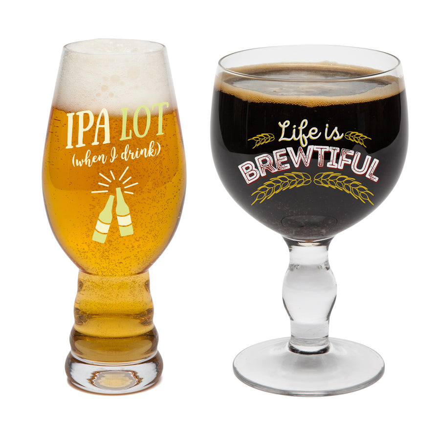 The Beer Snob Drinkware Set