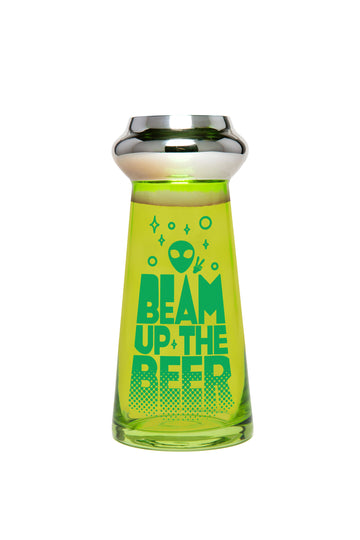UFO Beer Glass: Beam Up the Beer