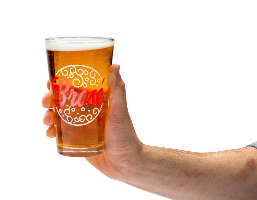 Beer Bro's Beer Glass set of 3