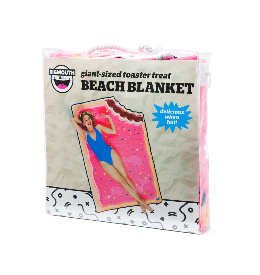 Giant Toaster Tart Beach Blanket