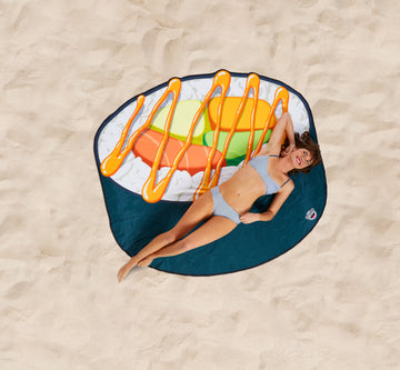 Giant Sushi Roll Beach Blanket