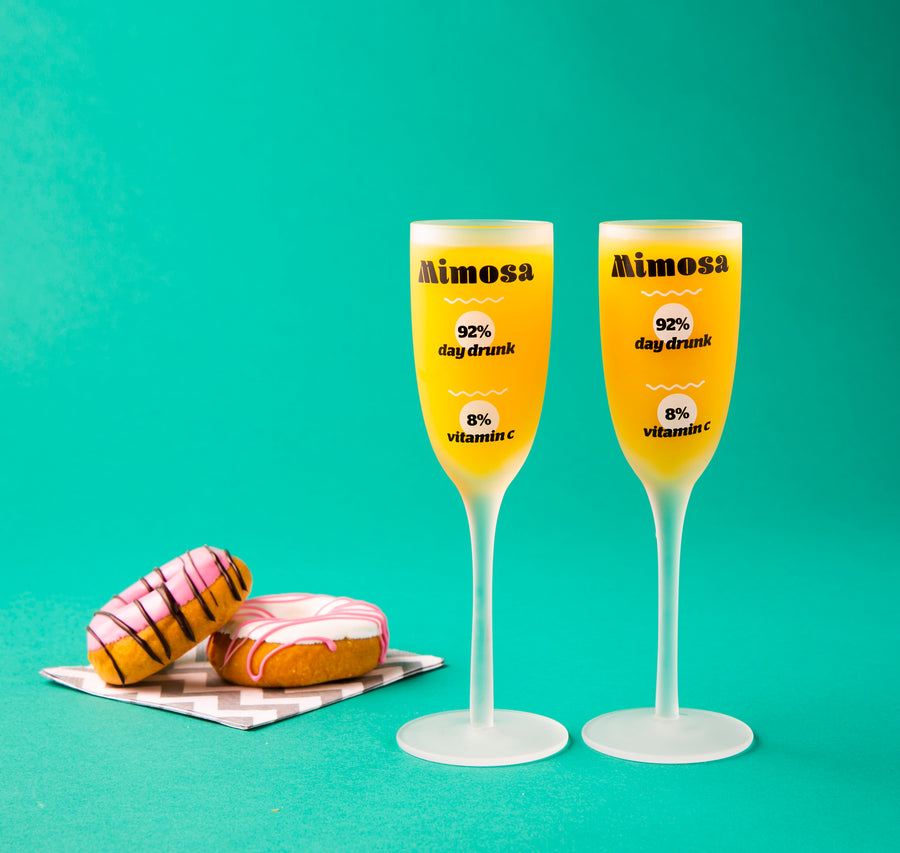 The Real Mimosa Glass set of 2