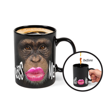 The Color Changing Monkey Mug