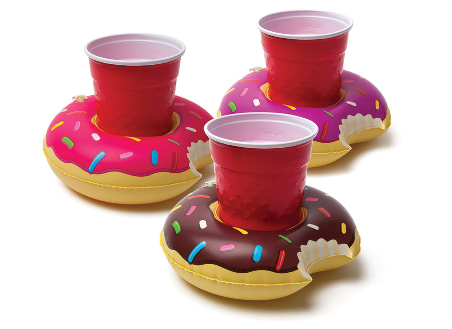 Frosted Donuts Beverage Boats  (3-Pack)