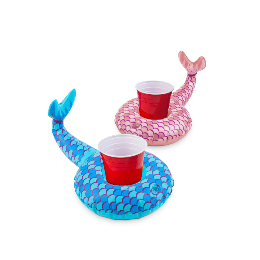 Mermaid Tails Beverage Boats  (2-Pack)