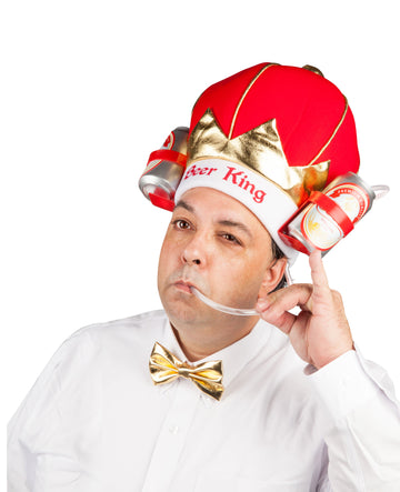 The King of Beers Drinking Hat