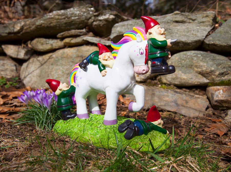 The Unicorn Attack Garden Gnome