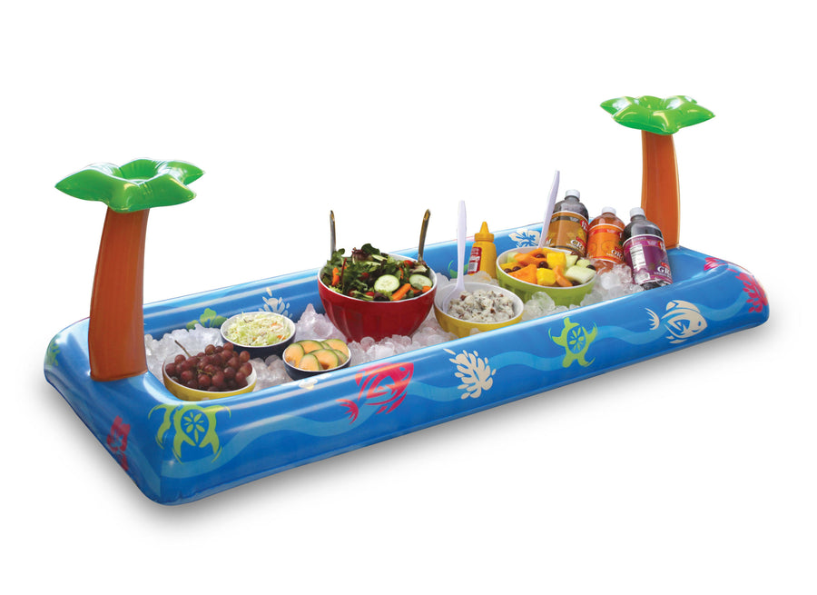 Tropical Luau Inflatable Buffet