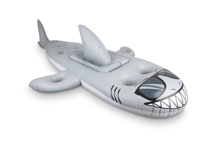 Floating Shark Beverage Cooler