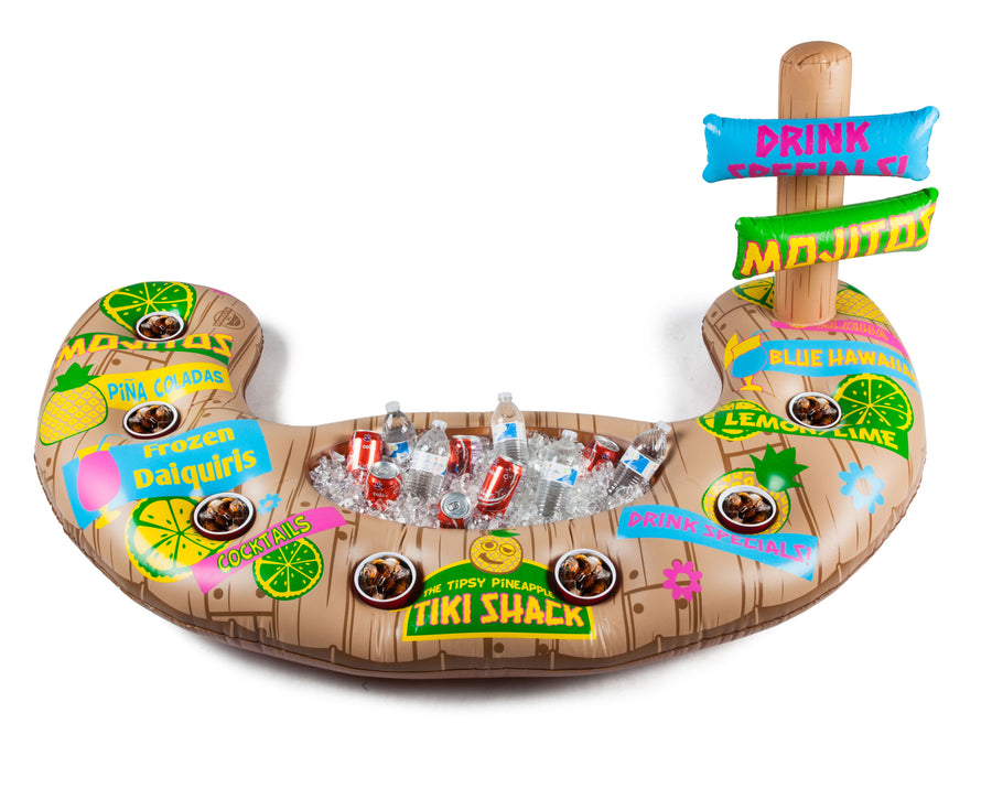 Floating Tiki Beverage Bar