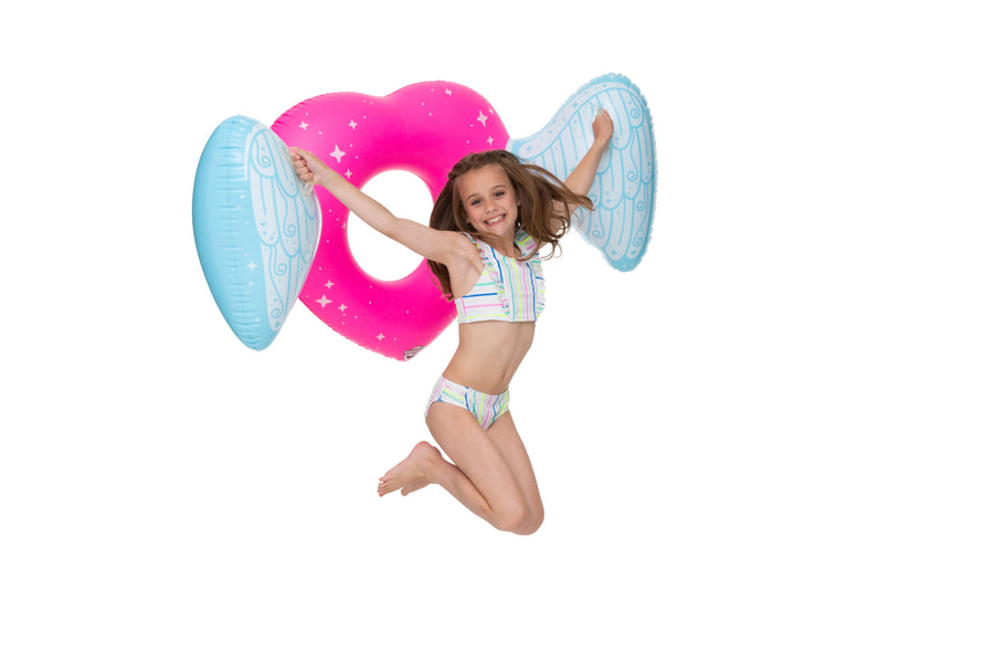 Kiddo Float Angel Heart Pool Float