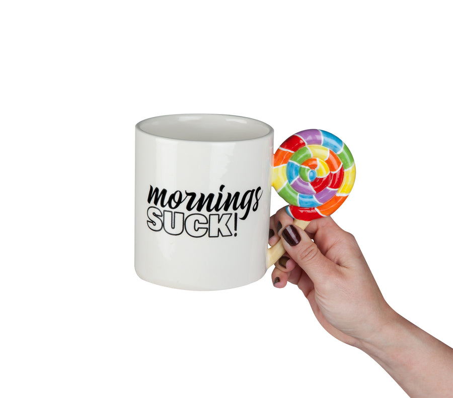 The Mornings Suck Coffee Mug