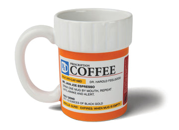 Prescription Pill Bottle Coffee Mug