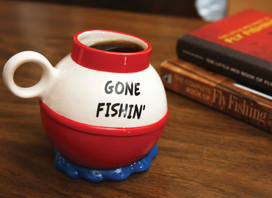 The Gone Fishin' Coffee Mug