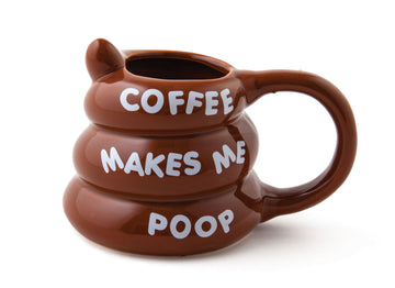 The Coffee Makes Me Poop Mug