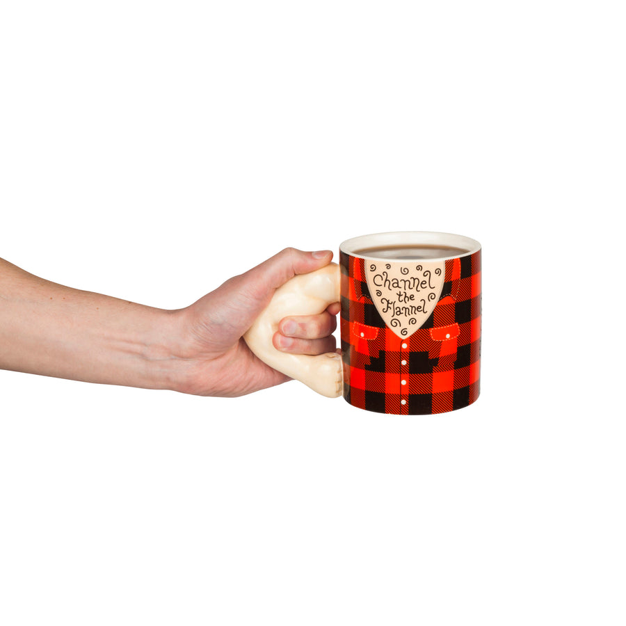 Channel the Flannel Coffee Mug