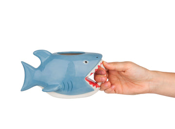 The Bite Me Shark Mug