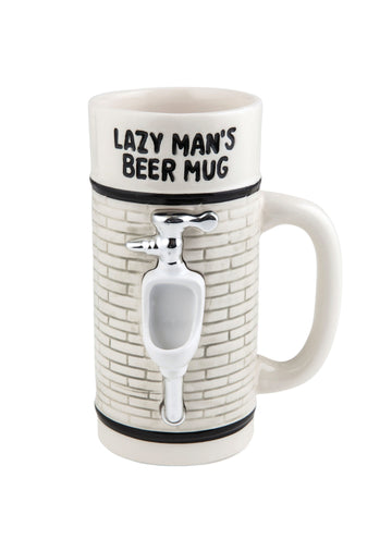 The Lazy Mans Beer Mug