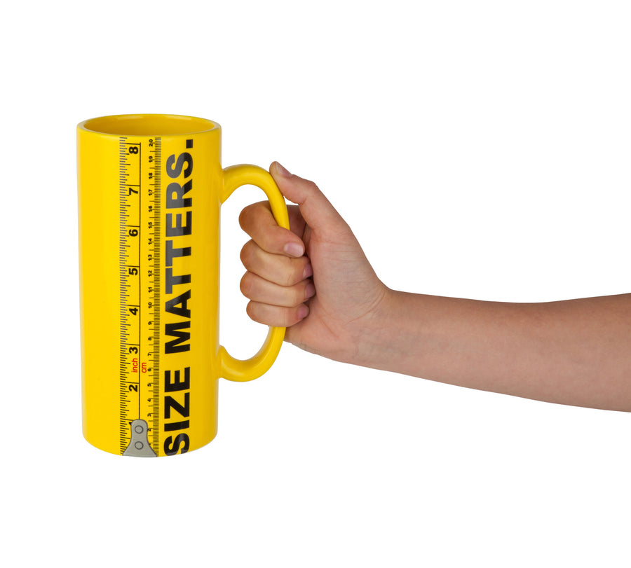 The Size Matters Coffee Mug