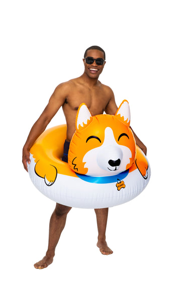 Giant Corgi Pool Float