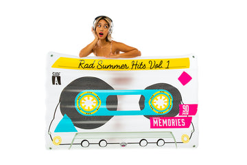 Giant Mixtape Pool Float