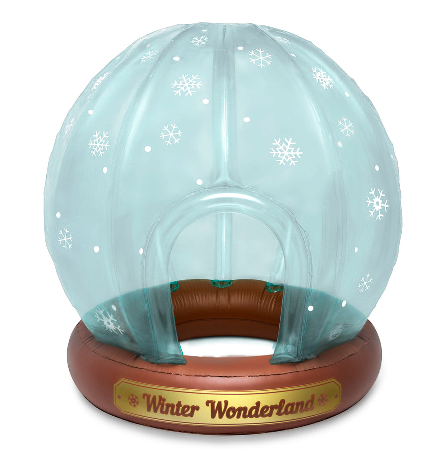 Snow Globe Winter Fort